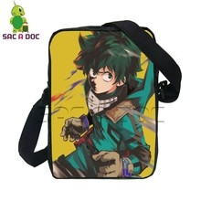 a0150c5f4921 Anime My Hero Academia Deku Shoto Printing Crossbody Bag for Boys Girls Kids  School Shoulder Bag Women Men Small Messenger Bag