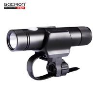 GACIRON Night Riding Flashlight V3 Bicycle Front Handlebar Light Cycling Torch 650lm M L T6 LED
