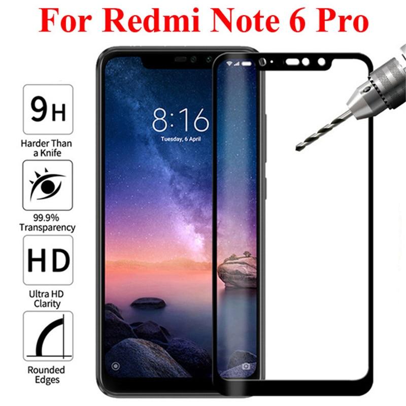 3D For Xiaomi Redmi Note 6 Pro Full Cover Screen Protector Protective Tempered Glass For Xiaomi Redmi 6 Pro 6pro pro6 Film Glas(China)
