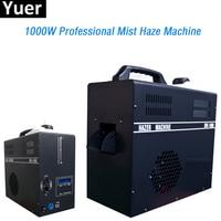 Mist Haze Machine 1000W Haze Oil Special Smoke Hazer Fog Machines 2.5L Tank capacity 2 DMX channels professional Stage Equipment