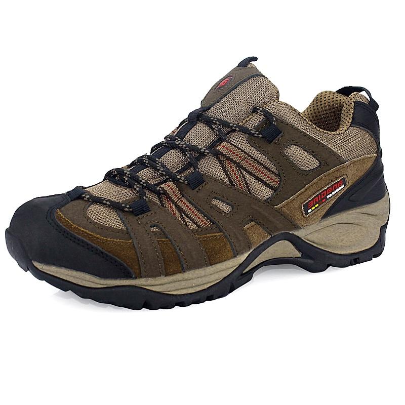 ФОТО 2017 Waterproof Outdoor Men Boots Shoes New Autumn Winter Mens Sport Shoes Trekking Mountain Climbing Suede Boots 8083