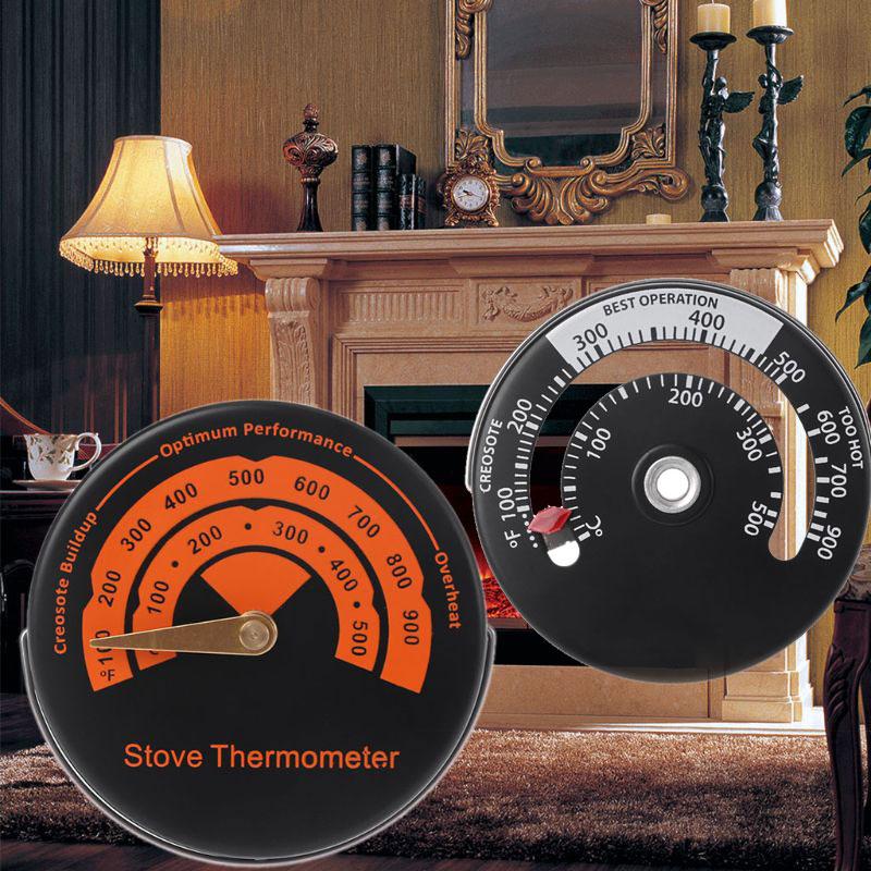 1 шт. сплав магнитная плита дымовой трубный термометр-круглый датчик температуры для деревянной горелки 2 типа