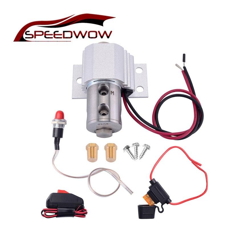Support de pression de verrouillage de parc de frein hydraulique de ligne pour tambour à disque avec lumière et interrupteur kit de support de colline de contrôle de rouleau de verrouillage de ligne
