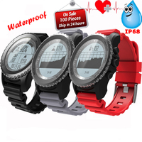 S968 smart watch Heart Rate Monitor Sport Waterproof bluetooth GPS Smart Watch Support Smartwatch for Android IOS Phone watch
