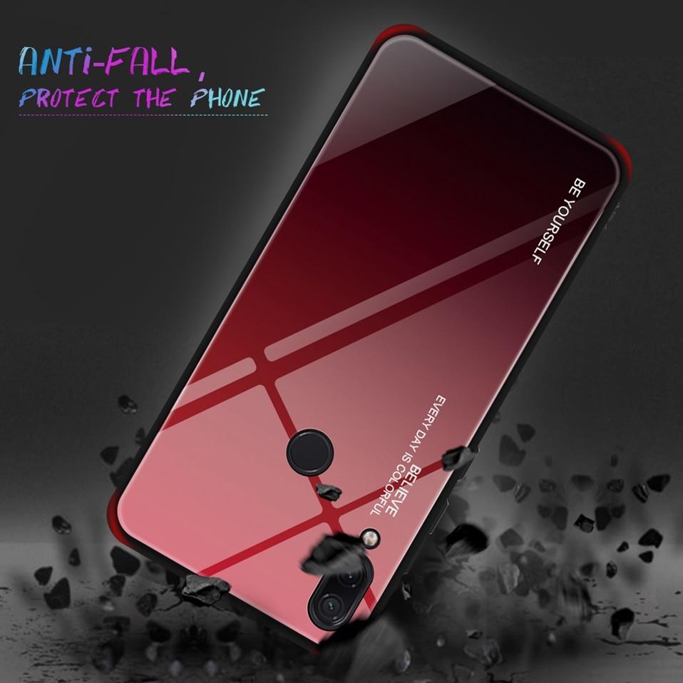 Tempered Glass Case For Xiaomi Redmi K20 Note 5 6 7 Pro 6A Cover Luxury Phone Xiomi Case For Xiaomi Mi 8 A2 Lite Redmi 5 Plus Coque (7)