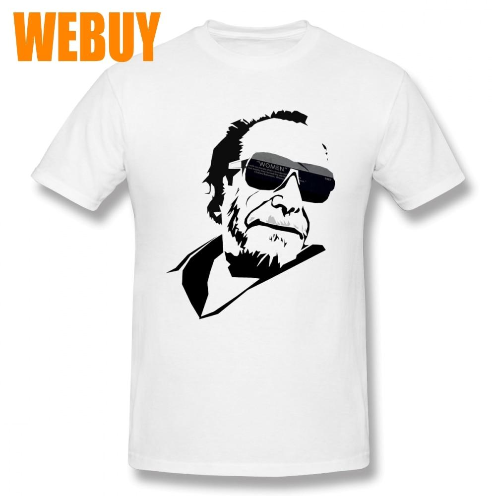 Vintage Design Bukowski - Women T Shirt For Man Geek O-neck Tee Top design Fashion New Arrival