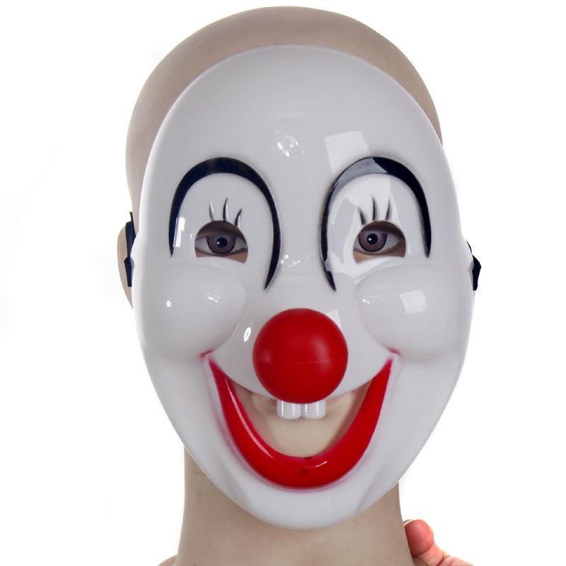 10pcs/lot Halloween Masquerade Clown Mask Cartoon Cosplay Childrens Holiday Show