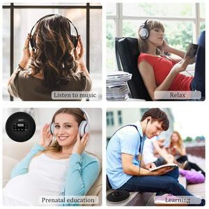 Image 5 - HOTT Mini Portáteis CD Player Recarregável Bateria Embutida, Compact Disc Player Pessoal com Display LCD, função Anti Choque