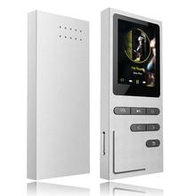 Original de Metal HiFi Reproductor de MP3 Altavoz incorporado APE/FLAC/WAV de Alta Calidad 8 GB de nivel de Entrada de Sonido Lossless Reproductor de Música con FM