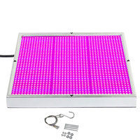 120W led grow lights hydroponic systems lamps full spectrum Indoor Grow Tent Led Panel Light AC85 265V free shipping