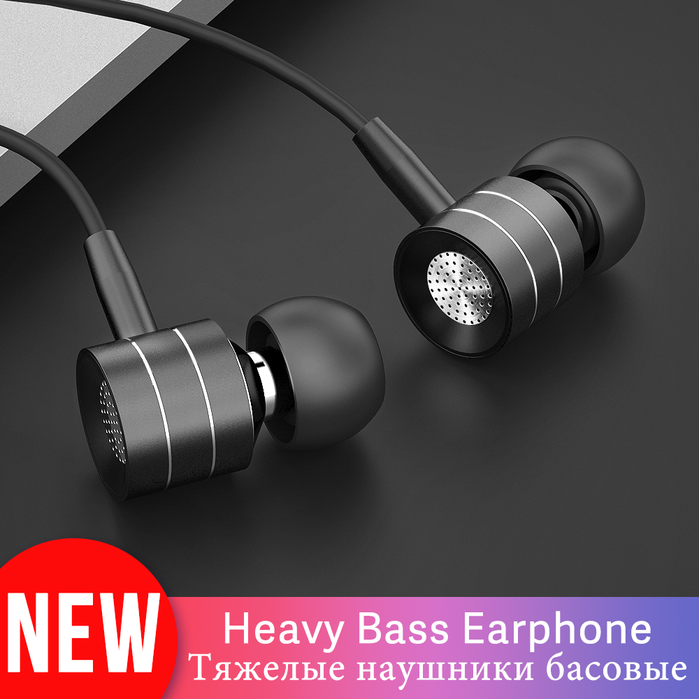 Langsdom I-7A Wired Earphones For Phone Headsets In-ear Earphone Cell Phones Earbuds With Mic For IPhone Xiaomi Fone De Ouvido