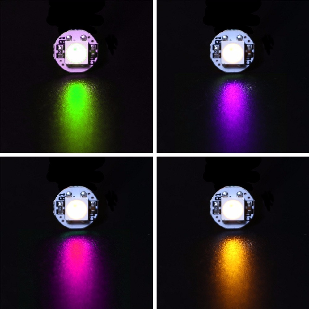 LED 10 ~ 1000 Stks 4-Pin WS2812B WS2812 LED Chip & Heatsink 5 V 5050 RGB WS2811 IC Ingebouwde