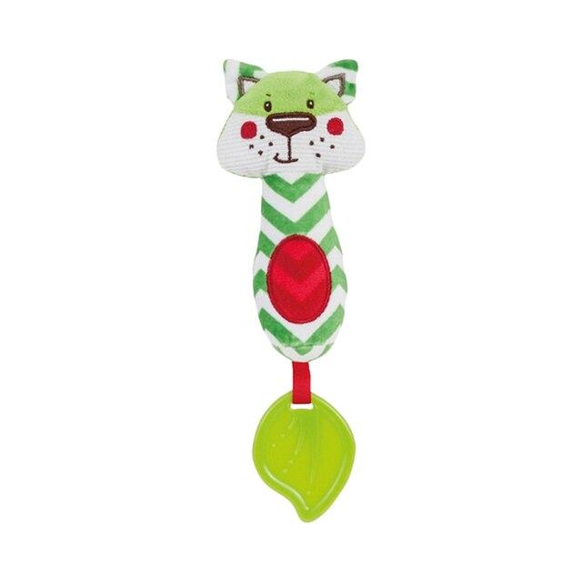 "Мягкая игрушка-пищалкa Canpol ""Forest Friends"", форма: лисенок"