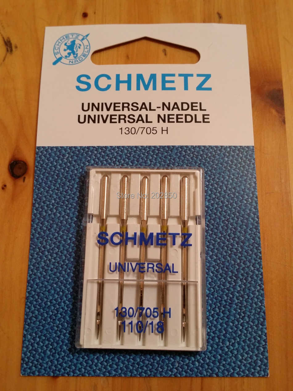 SCHMETZ UNIVERSAL Needles,130/705 H,120/19,5 Pcs Needles/Lot,Domestic Sewing Machine Parts,For Janome,Brother,Singer,Bernina...