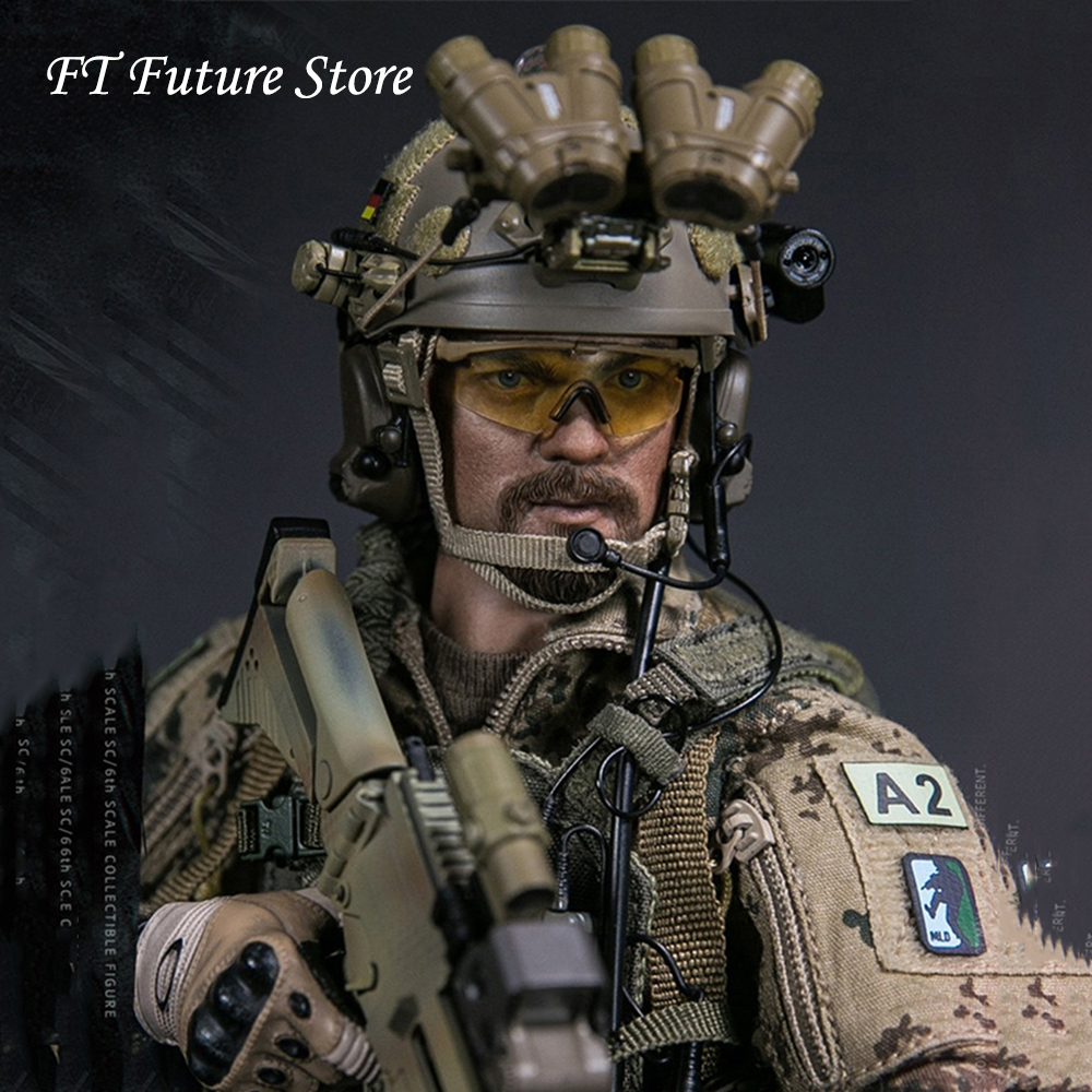 For Fans Gifts 1 6 Scale Collectible Full Set Solider German KSK COMMANDO SPECIAL FORCES LEADER