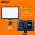 Viltrox L116T Светодиодный Свет Ультра тонкий ЖК-Би-Цвет и затемнения DSLR Студия Светодиодные Панели Лампы для Камеры DV видеокамеры