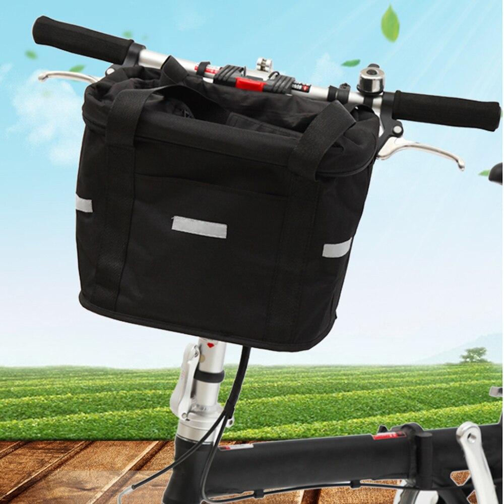 Lixada bicicleta cesta de la bicicleta mochila Marco de aleación de ...