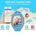 X113 remoto da câmera cartão sim rastreador gps locator crianças smart watch phone crianças relógio de pulso inteligente com gps