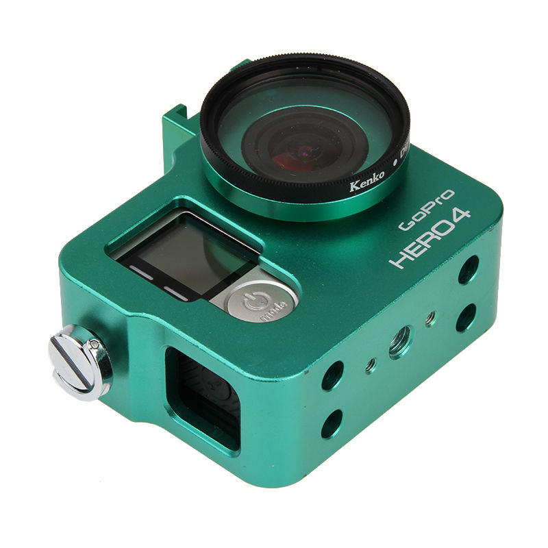 Hot Go pro Hero 4 3+ Akcesorium do aparatu, aluminiowa metalowa - Aparat i zdjęcie - Zdjęcie 5