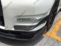GTR35 Carbon Canards Skyline GTR Winglets Mines Style Side Spoiler For Nissan