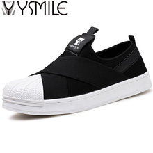 High quality fashion men casual shoes brand superstar footwear male walking shoes black designer mens shoes sales white flats