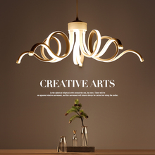 цена на LED chandelier Modern restaurant lighting fixtures Nordic hanging lights dining room suspension luminaires home suspended lamps