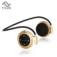 TTLIFE Newest Neckband Mini Bluetooth Earphones Sports Wireless Music Stereo Earbuds Hi Fi Hands Free Stereo