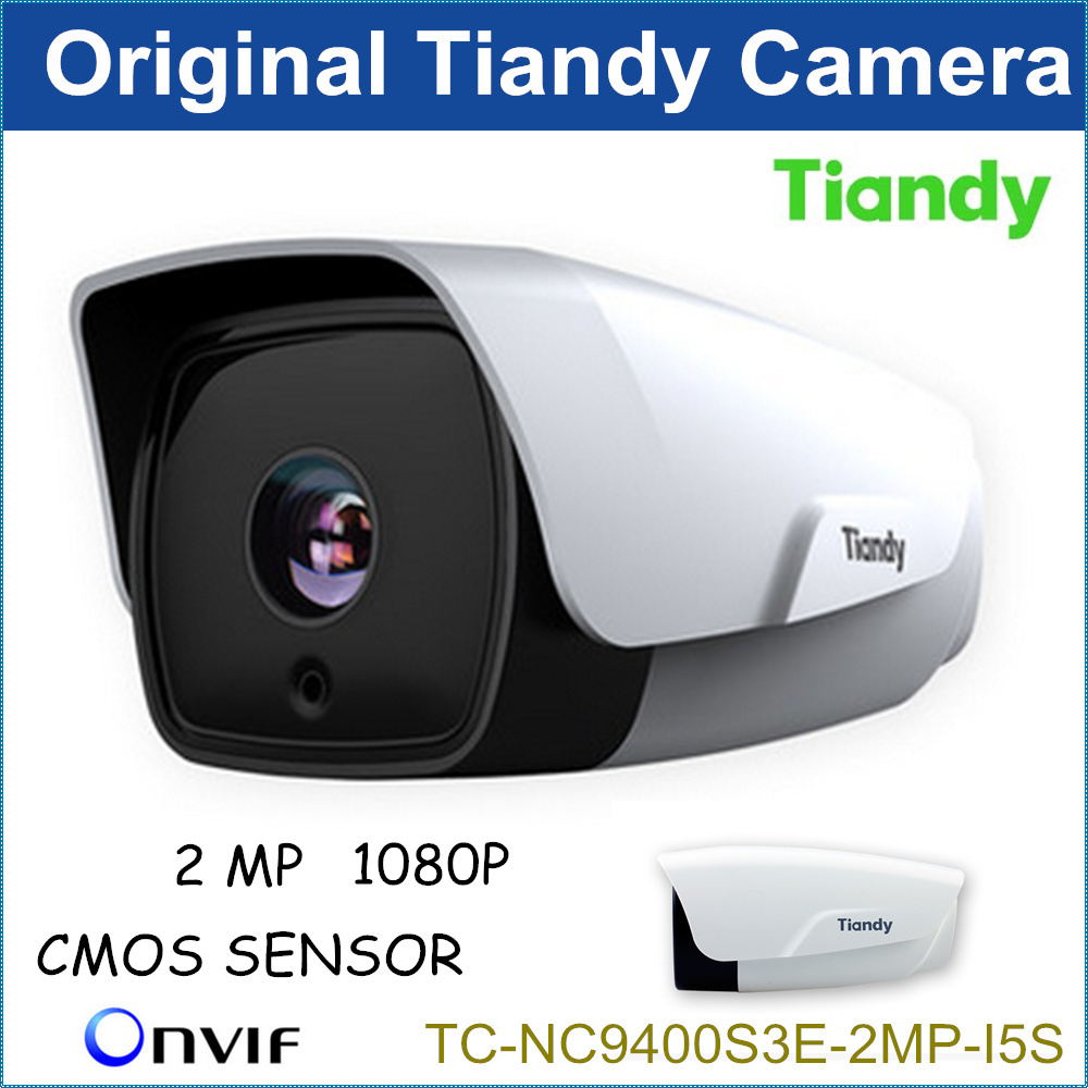 2016 New Tiandy 2MP IP Camera TC-NC9400S3E-2MP-I5S 1080P <font><b>H</b></font>.264 Outdoor CCTV Camera CCTV System Support Onvif and English Version