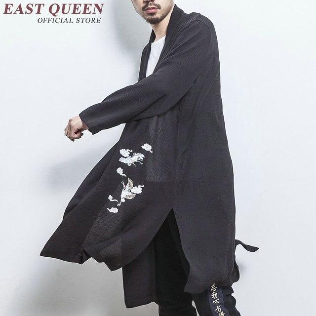 Традиционная китайская одежда для мужчин мужское пальто Верхняя одежда Восточный зимний Тренч Мужская одежда Тренч 2018 KK2380