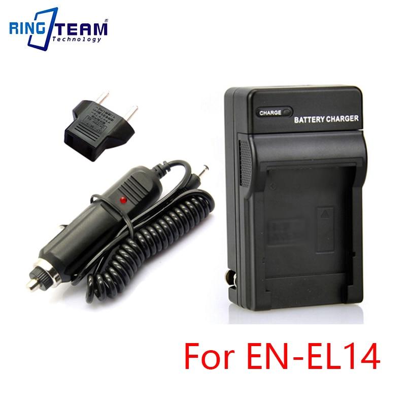 EN-EL14a EN-EL14 Batterie Chargeur Kit MH-24 pour Nikon D5500 D5300 D5200 D5100 D3100 D3200 D3300 P7100 P7000 P7700 P7800 Reflex Numériques