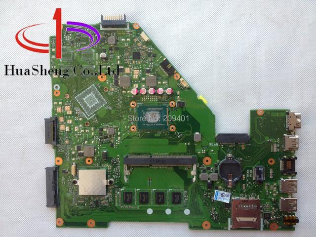 Para asus x550ca laptop motherboard x550cc rev: 2.0 placas-mãe com cpu i3-3217u 100% teste