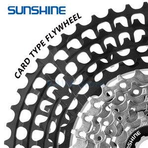 Image 5 - SUNSHINE 10/11/12 Speed Ultralight Mountain Bicycle Flywheel 11 50T/52T/46T Cassette Freewheel MTB Bike Part for GX Shimano