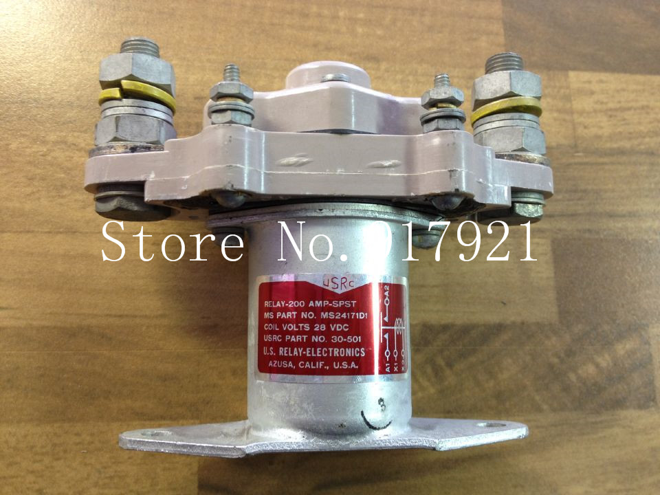 [ZOB] The United States USRC MS24171D1 RELAY-200 SPST DC28V DC contactor  --2pcs/lot new cad32mdc dc220v tesys d series contactor control relay 3no 2nc