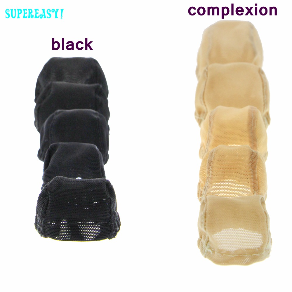 1 Piece BJD Doll Wigs Cap Black Nude Color Fixed-Wig Hairnet 1/3 1/4 1/6 1/8 1/12 For Barbie For Blyth DIY Doll Accessories Gift fashion black hair extension fur wig 1 3 1 4 1 6 bjd wigs long wig for diy dollfie