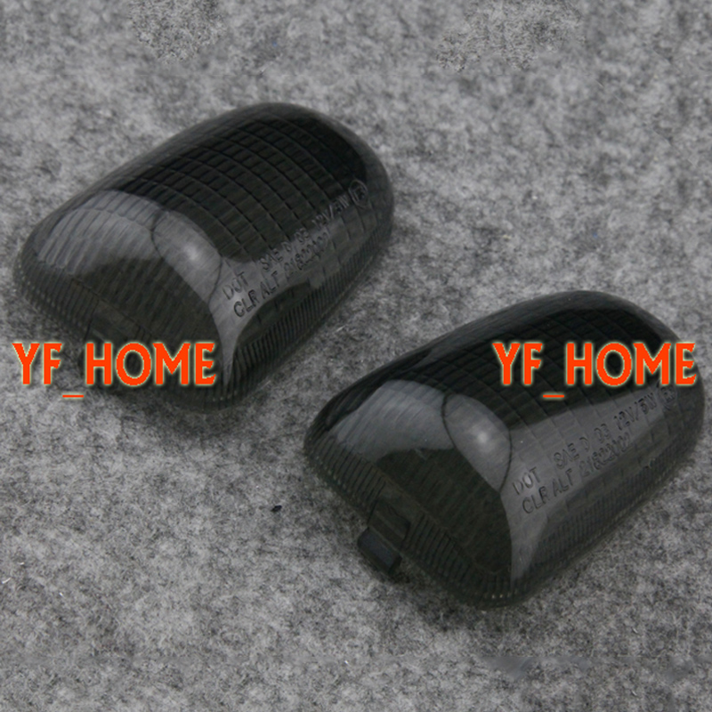 Motorcycle Rear Turn Signals Light Lamp Indicator Blinkers Lens Cover Housing Shell For  ...