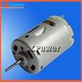 Comercio al por mayor RS-385SD Motor 12-24 V Micro Motor 4650-9300 rpm Mini Motores Eléctricos 24 V Motor de Corriente Continua el Uso a largo Para Uso Común Xpower