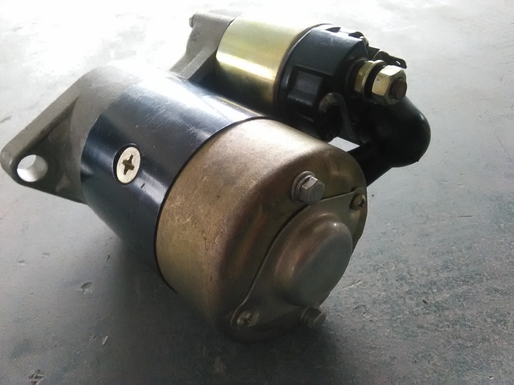 Fast Shipping diesel engine 188F starting motor starter motor air cooled  suit for kipor kama and all the chinese brand fast ship diesel engine 188f conical degree crankshaft taper use on generator suit for kipor kama and all chinese brand