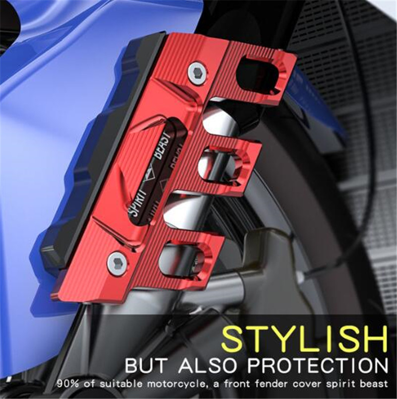 SPIRIT BEAST  CB190 Motorcycle Decorative Front Fender Side Cover 150NK Universal Appearance Motocross Protection Cap цена