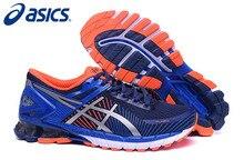 2016 Recién Llegado de Asics Kinsel 6 Deportes de Los Hombres, Alta Calidad Asics Kinsel 6 Zapatos Corrientes de Los Hombres zapatillas de deporte