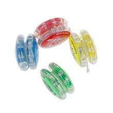 1 pieza de bola mágica colorida Yoyo juguetes para niños fácil de llevar yo-yo juguete fiesta chico clásico divertido Yoyo pelota juguetes regalo plástico