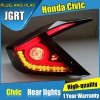 Автомобильные задние фонари для Honda Civic задние фонари светодио дный светодиодные DRL ходовые огни Противотуманные фары ангельские глазки зад