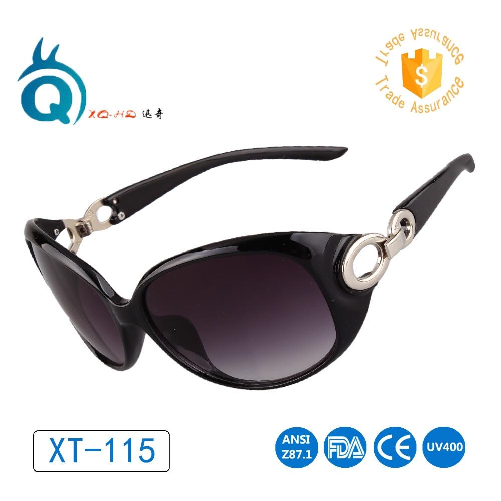 2017 vente Chaude lunettes de Soleil pour Femmes Femelle Verres Polarisés  En Plein Air Anti-UV 400 voyage de Conduire Gradient noir Dames Lunettes 19aedad5a013