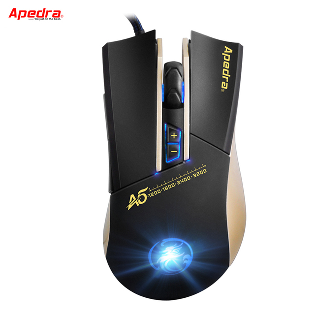 Wired Computer Gaming Mouse Macro Defintion Breathing Light Optical Mouse Game Mice for PC Laptop Desktop For CSGO LOL Dota