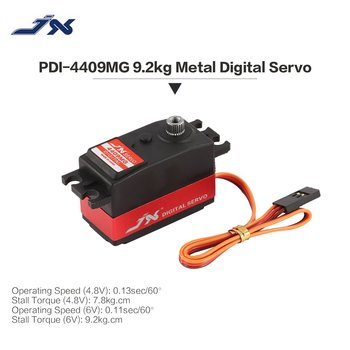 JX PDI-4409MG Digital Metal Gear Mini Servo 4.8-6V 9.2kg Large Torque 0.11 sec/60' with Aluminum Case for 1/8 RC Car Model Parts джемпер женский iv58022