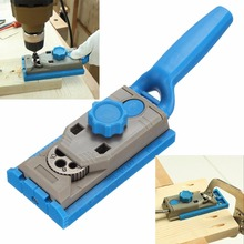 Woodworking Pocket Hole Jig Kit Set 9.5mm Drill Guide Sleeve For Kreg Pilot Wood Drilling Dowelling Hole Saw Master System