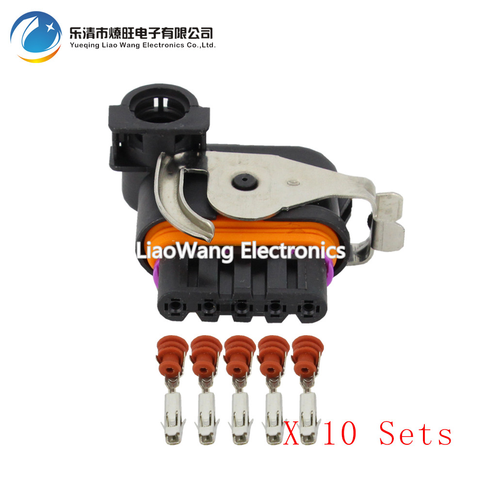 10Sets DJ7051K 1 5 21 Auto Female Parts Connector Wiper Motor For The Great Wall Geely