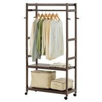 LK24 большое пространство шкаф одежда витрина оригинальный бамбуковый конь шляпа стойка сильный подшипник стеллаж для хранения с четырьмя к