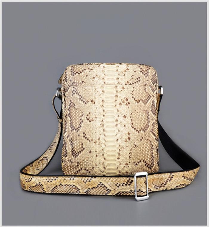 09a72c3baa1 Jranter New Arrival Men Genuine Python Snakeskin Briefcase Business Bag  Black and White SBEX03 on Aliexpress.com | Alibaba Group