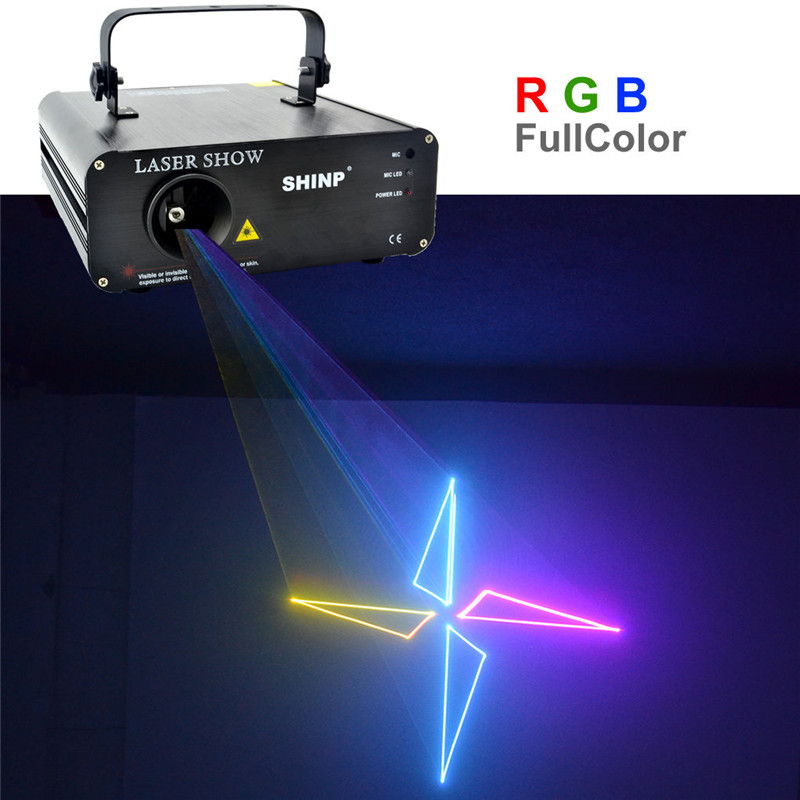 New SHINP RGB ColorFul Animation 12CH DMX 512  Laser Lights Scanner DJ Party KTV Disco Projector Show Stage Lighting AL-460RGB цены онлайн