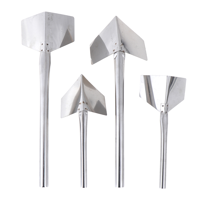 1Pcs Stainless Steel Putty Knife Drywall Scrapers Yin Yang Construction Tools